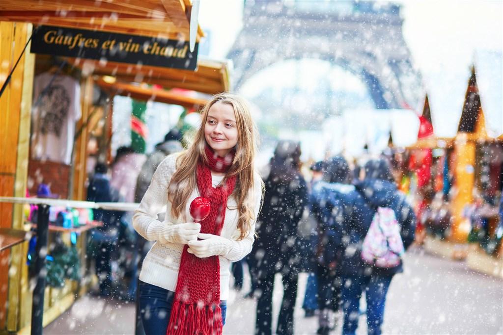 Adventní Paříž -