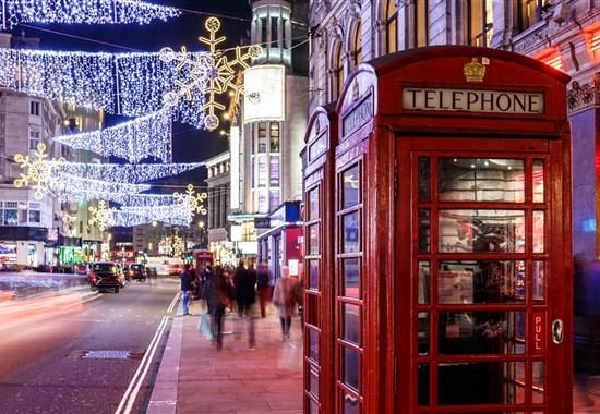 Předvánoční nákupy v Londýně -