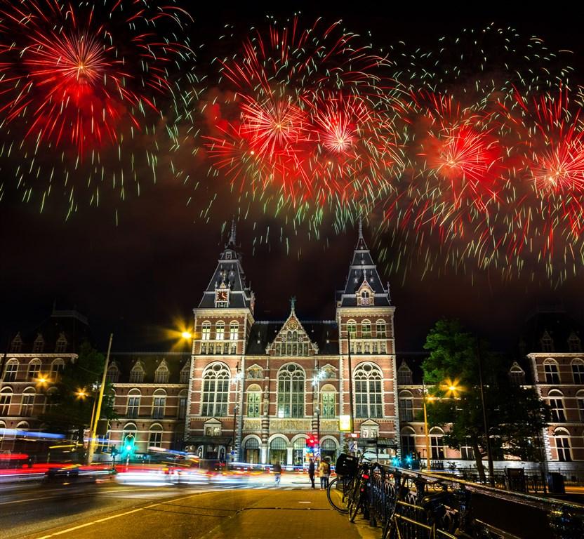 Silvestrovský Amsterdam -