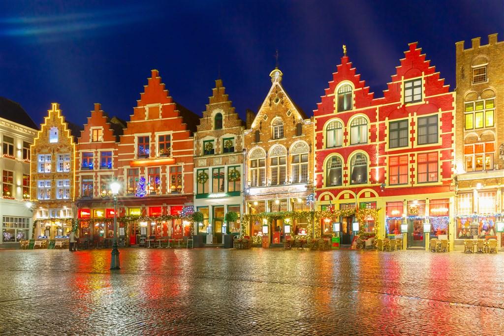 Belgie v čase předvánočním -