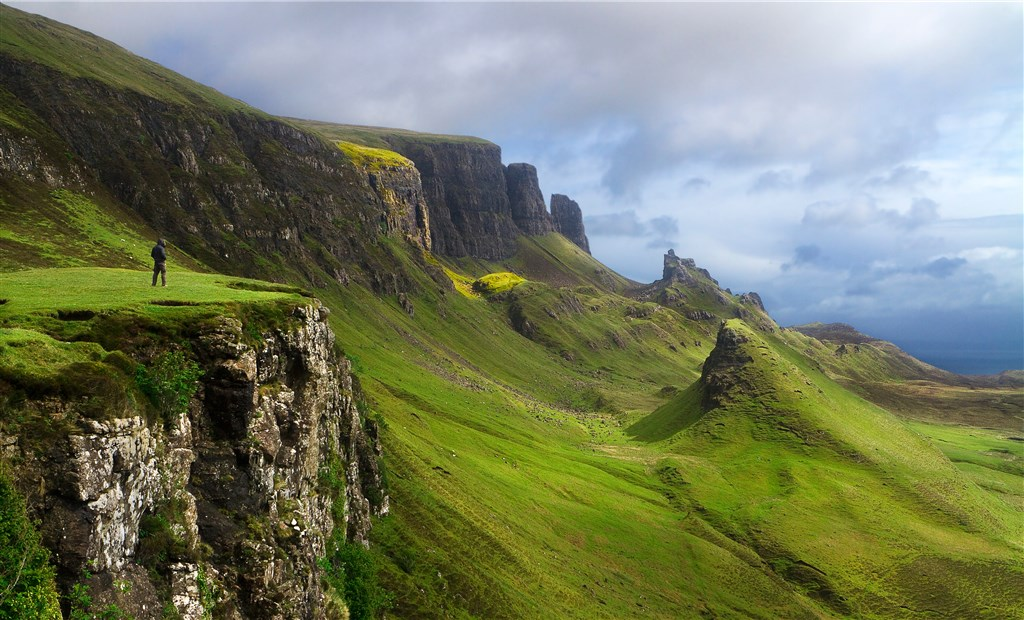 Velký okruh Skotskem -