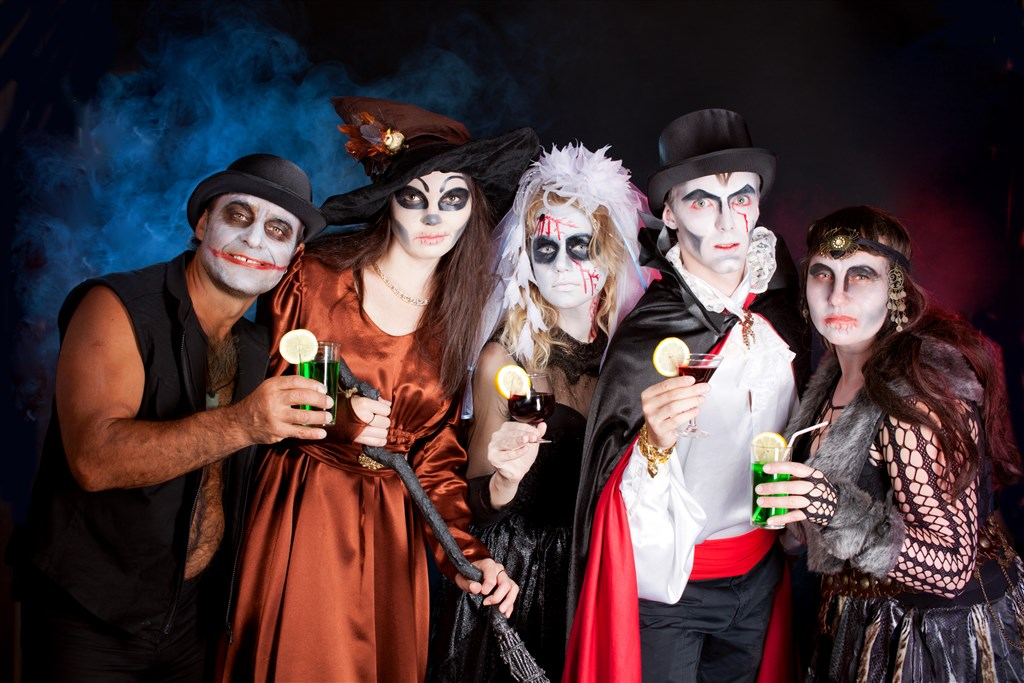 Halloween na Frankensteinově hradě -