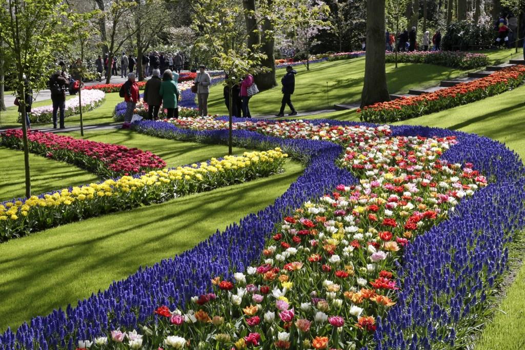 Květinový park Keukenhof a procházka Amsterdamem -