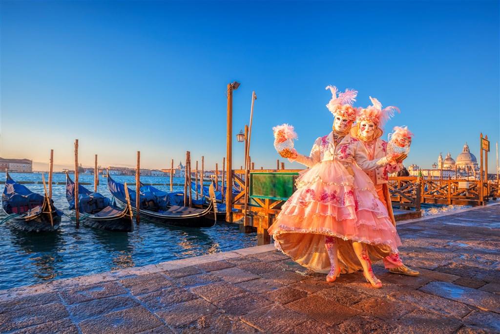 Na karneval do Benátek -