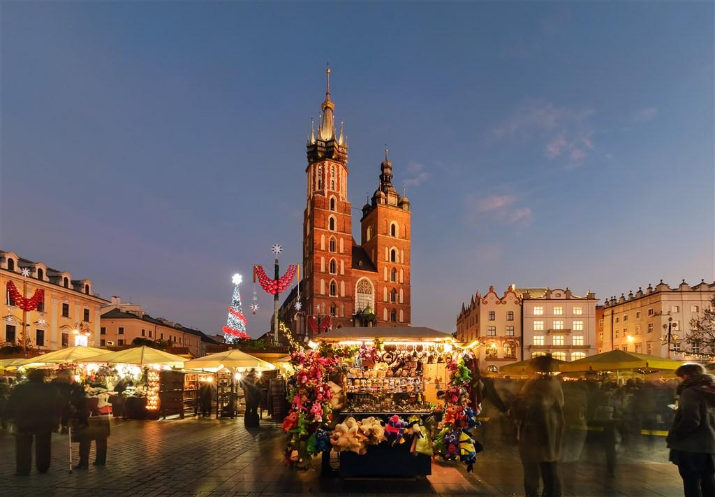 Adventní Krakow a solný důl Wieliczka -