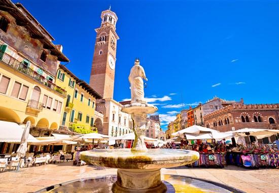 Okouzlující Benátky a Verona -