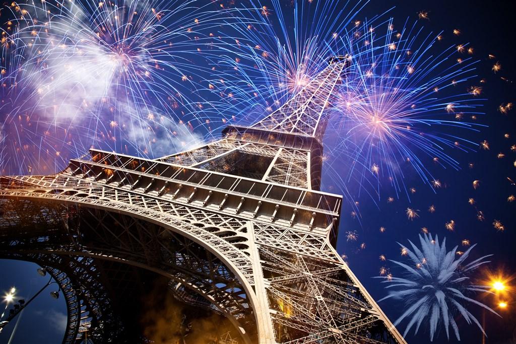 Paříž na konec roku -