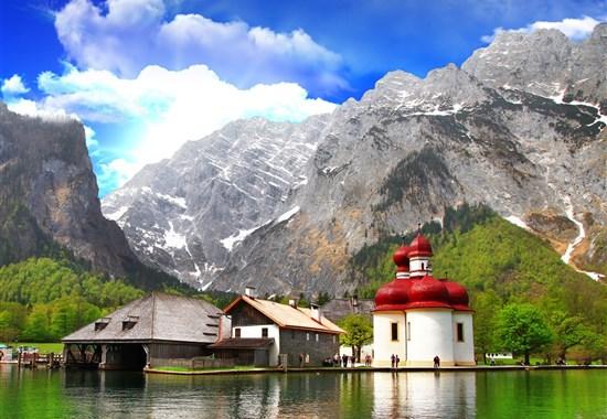 Jezero Königsee a Orlí hnízdo -