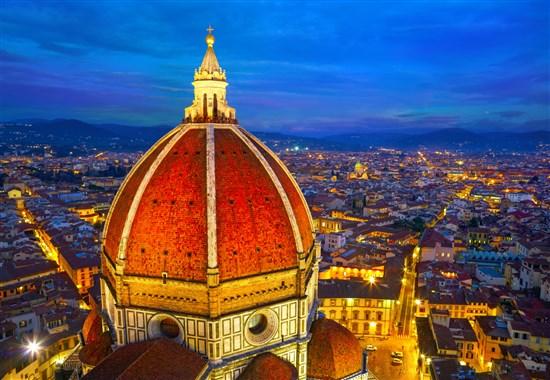 Florencie a Pisa s koupáním u moře -