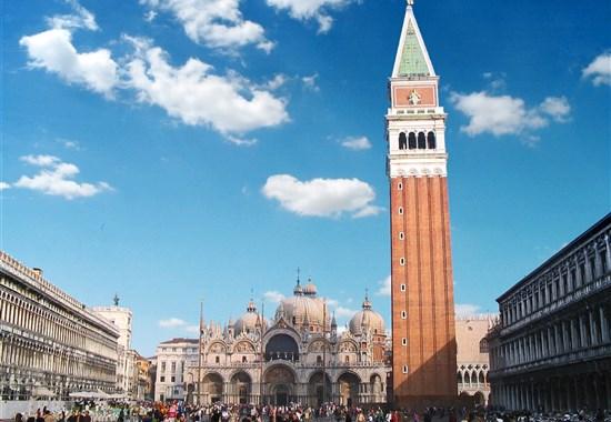 Benátky a Benátské ostrovy letecky -