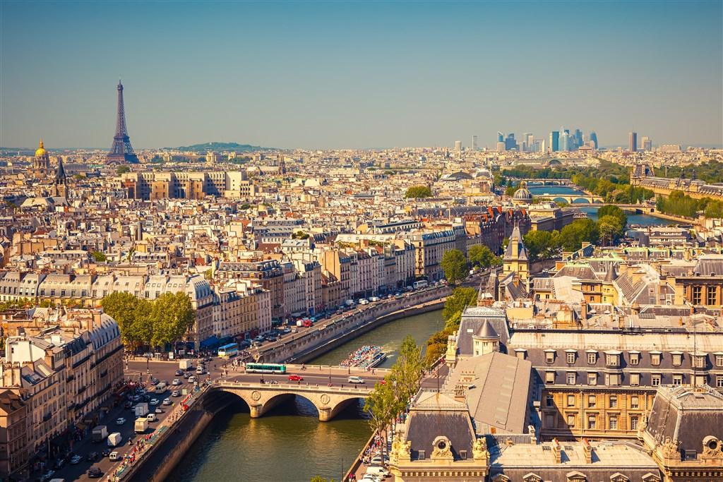 Všechny krásy Paříže (LETECKY) -