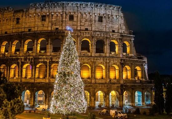 Adventní Řím, Neapol a světelná show v Salernu -