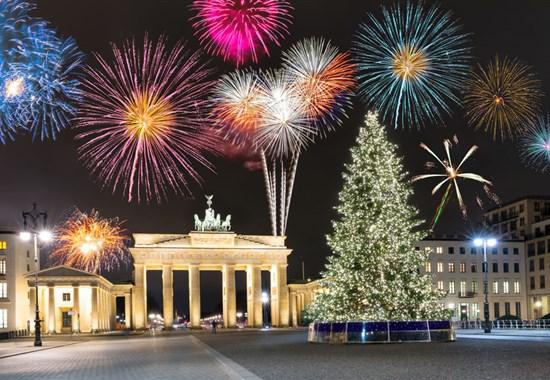 Silvestrovská párty v Berlíně -
