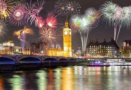 Silvestr v Londýně -