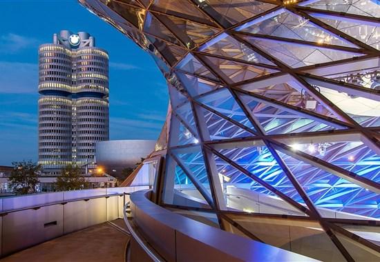 Svět BMW a Olympiapark Mnichov -