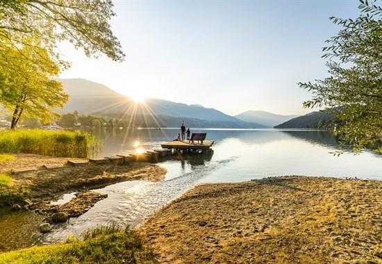 Den u jezera Millstätter See -